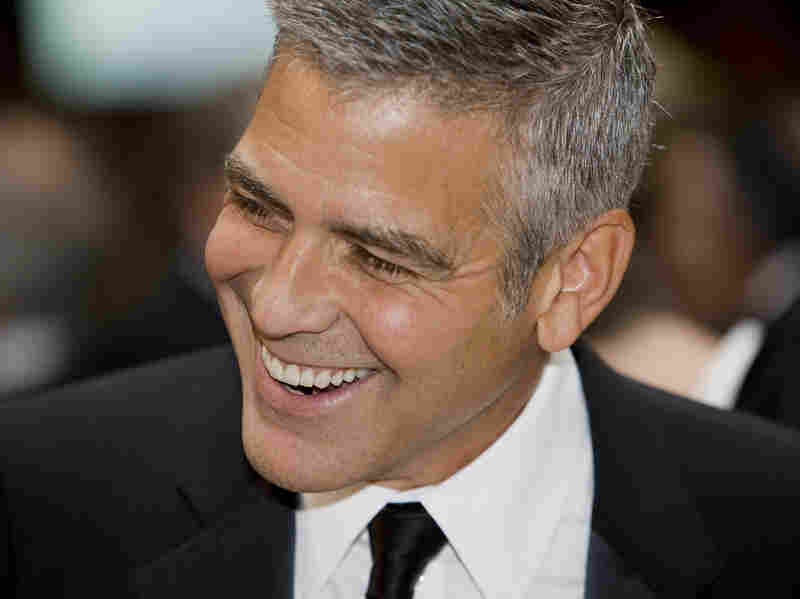 This is a medium-sized photo of George Clooney at the White House Correspondents Dinner. I think you will agree, he adds visual interest to the page!