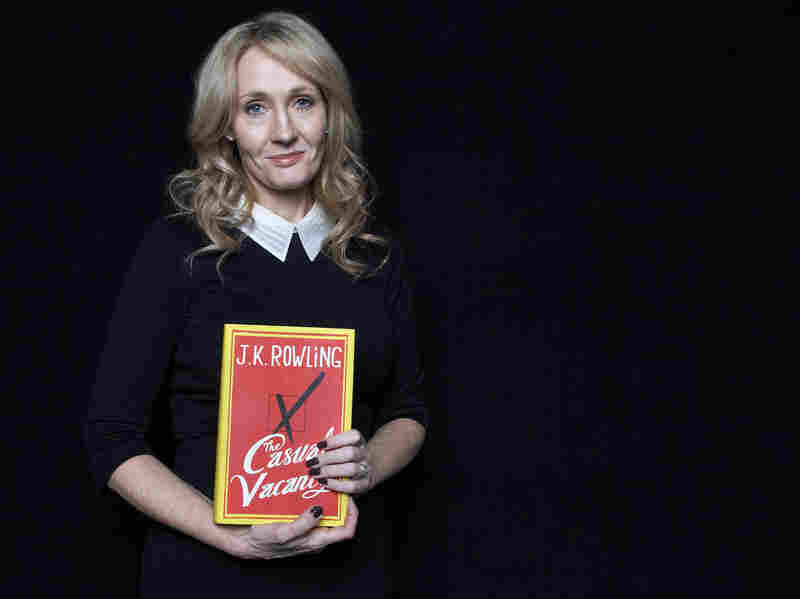 J.K. Rowling promotes her new novel, The Casual Vacancy, at Lincoln Center in New York. It was her only U.S. appearance.