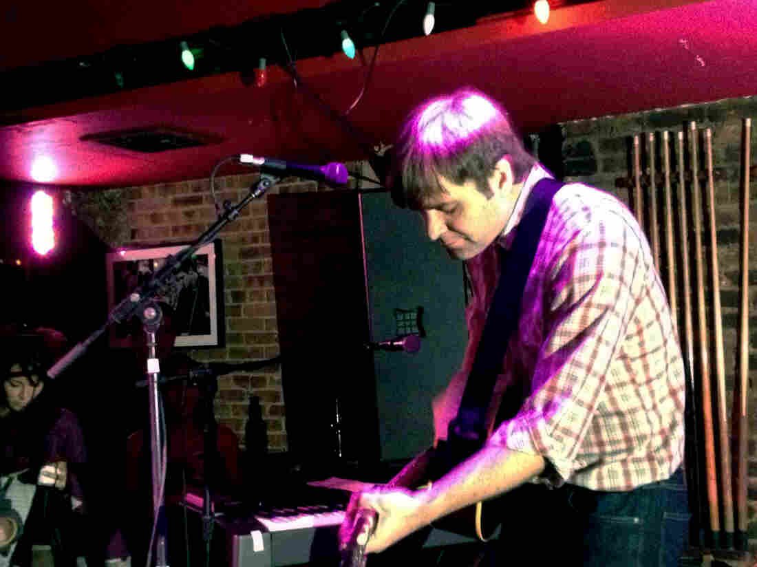 Ben Gibbard performs at The HiFi Bar in New York City's Lower East Side during the CMJ Music Marathon.