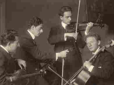 The Budapest String Quartet in 1919.