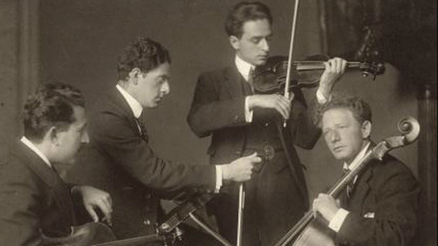The Budapest String Quartet in 1919. (Wikimedia Commons)