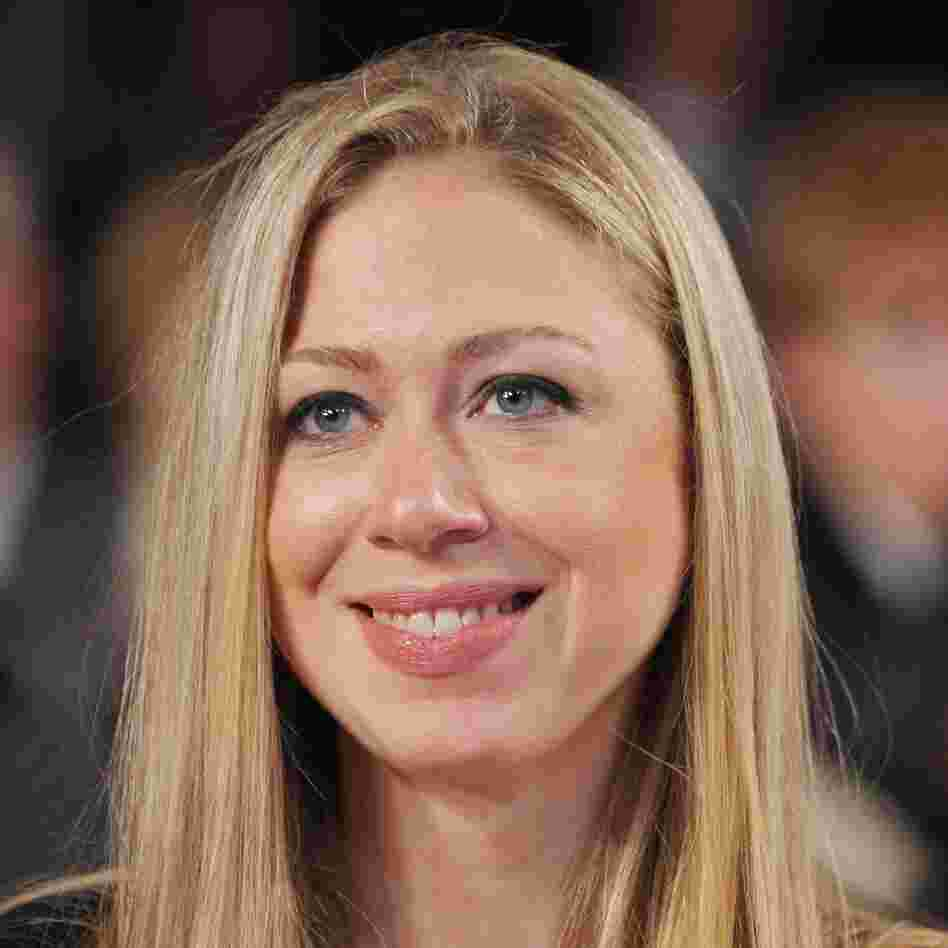Chelsea Clinton in September at her father's Clinton Global Initiative in New York City.