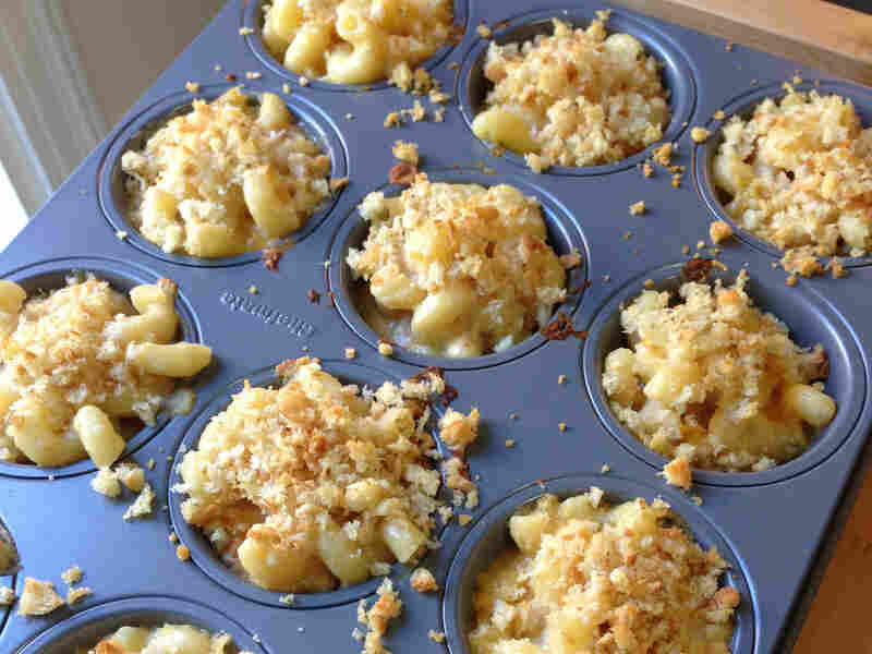 Cupcakes or just mac 'n cheese baked in a muffin tin?