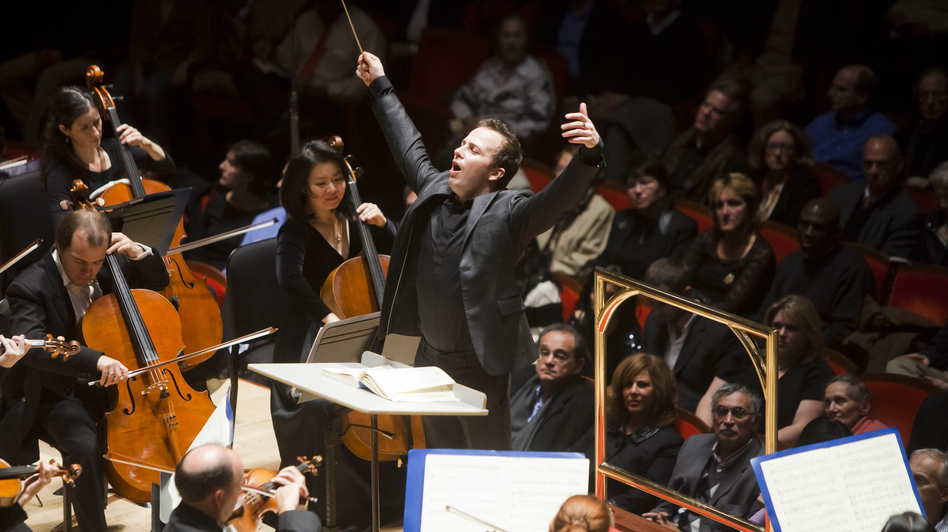 Yannick Nezet-Seguin leads the Philadelphia Orchestra. (Ryan Donnell)