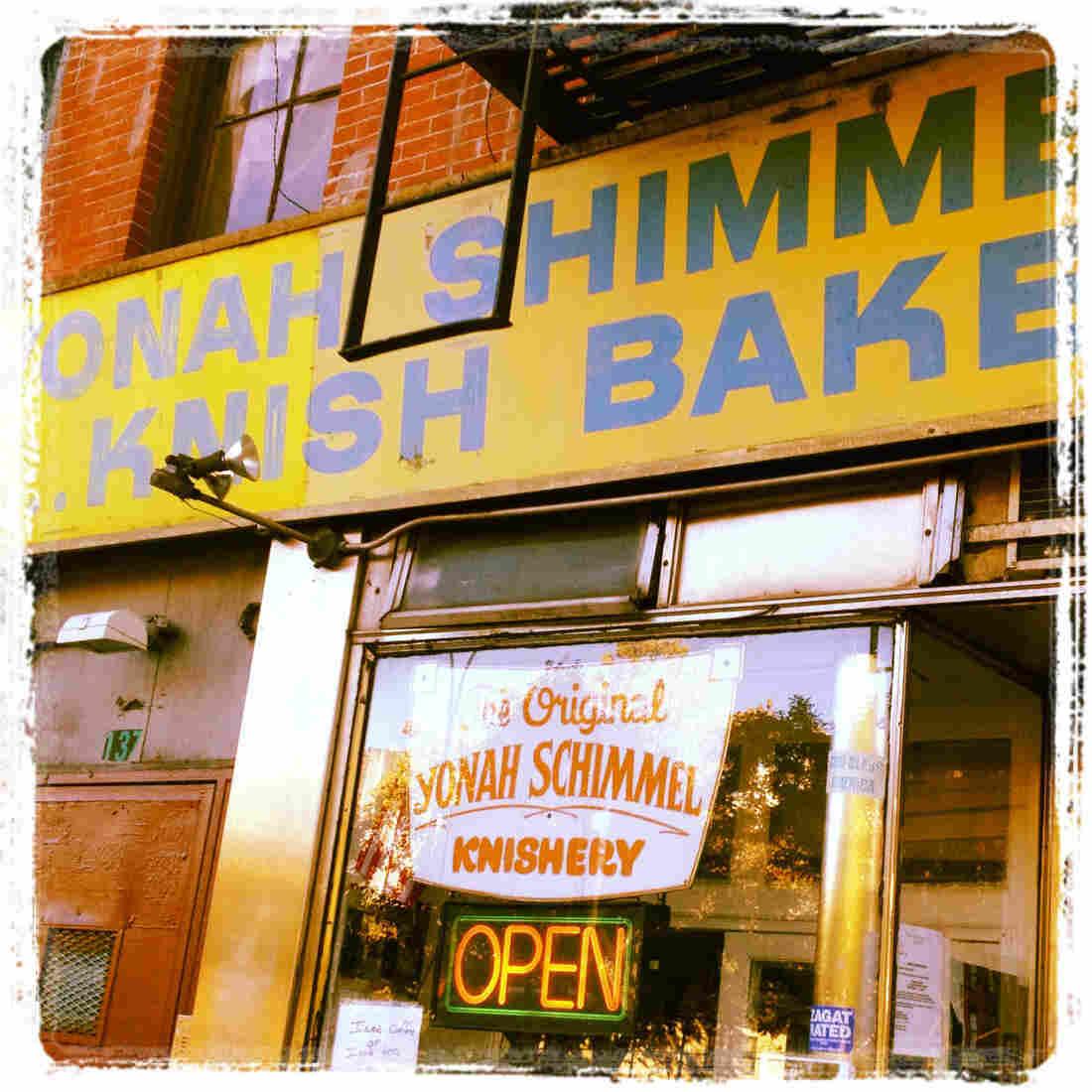 Knishery: Lower East Side standby Yonah Schimmel.