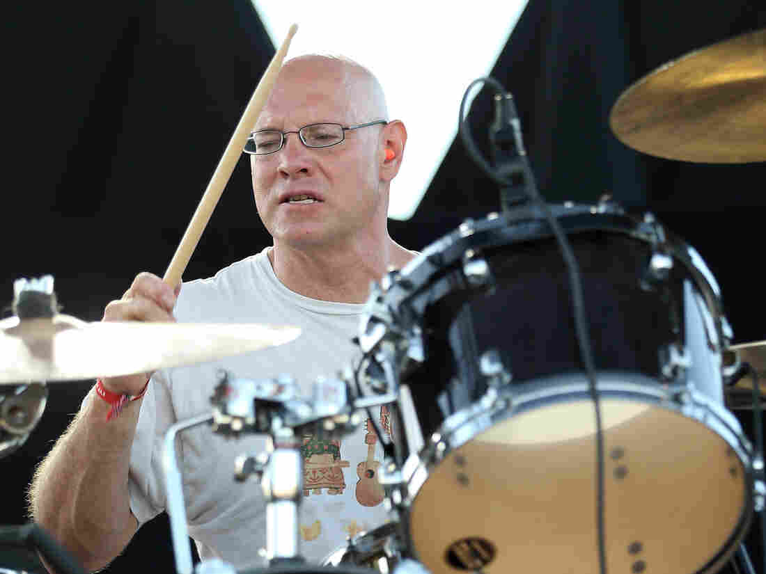 Drummer Murph of Dinosaur Jr., performing at FYF Fest in September.