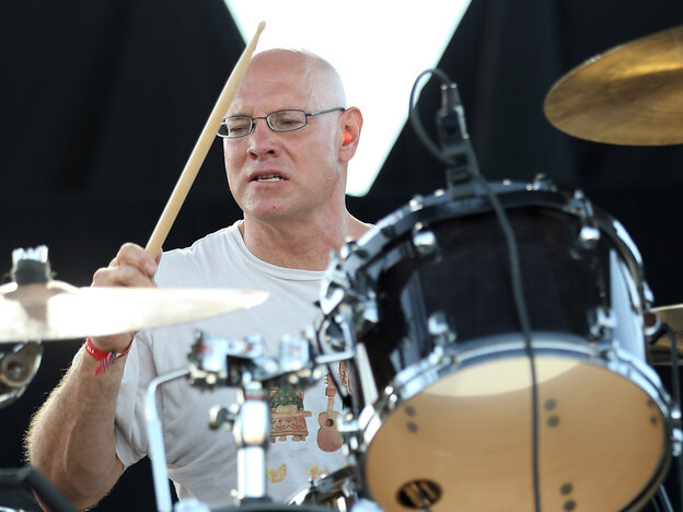 Drummer Murph of Dinosaur Jr., performing at FYF Fest in September.