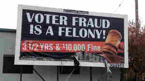 Swing-State Billboards Warning Against Voter Fraud Stir Backlash