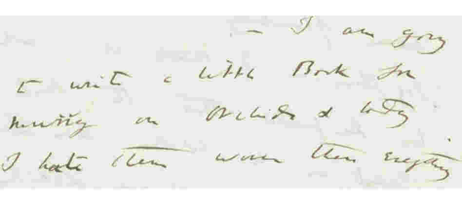 "Darwin: ""I am going to write a little Book for Murray on orchids..."""