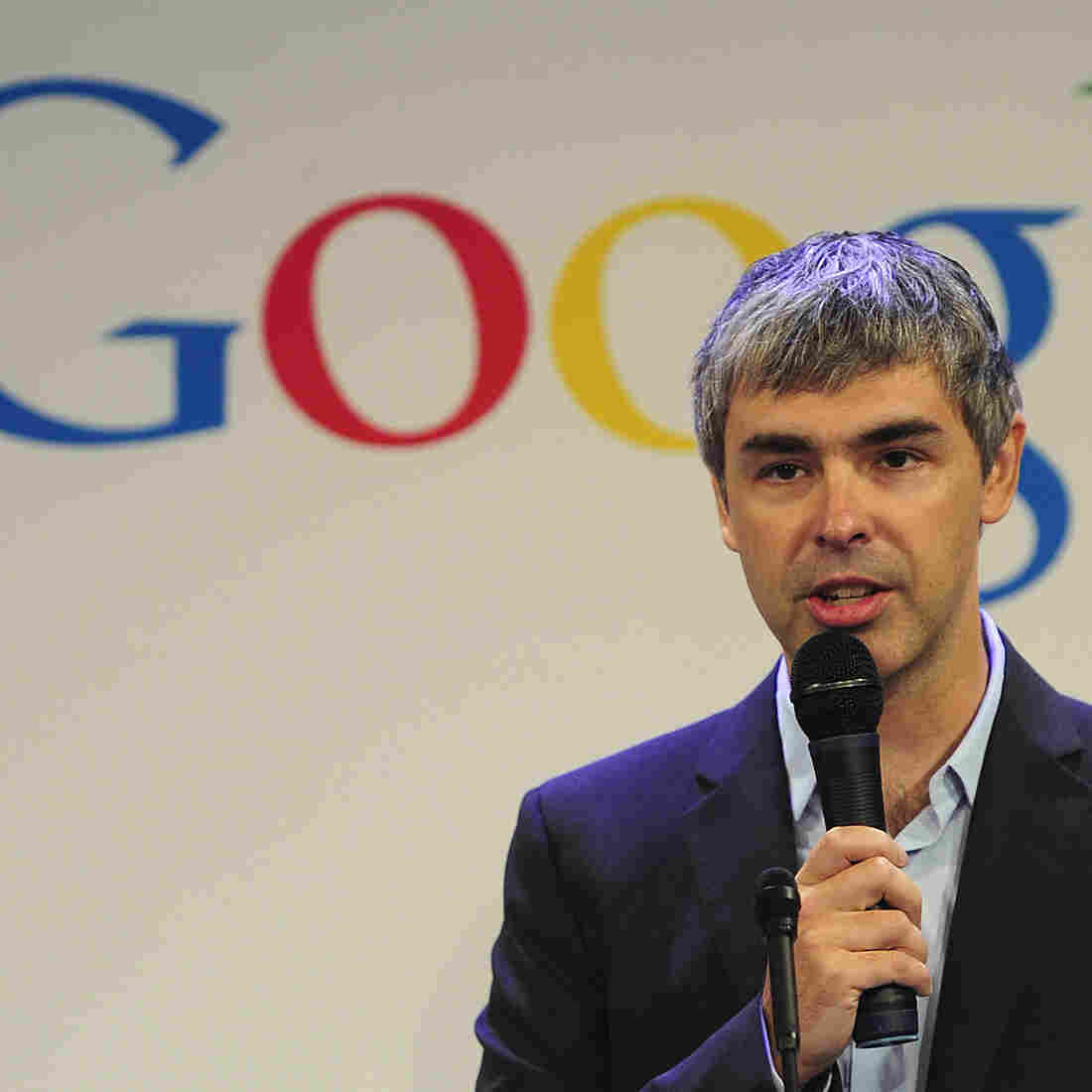 Google CEO Larry Page. What's he going to say now?