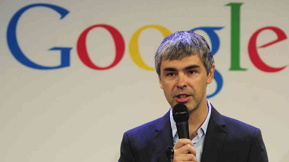 Google CEO Larry Page. What's he