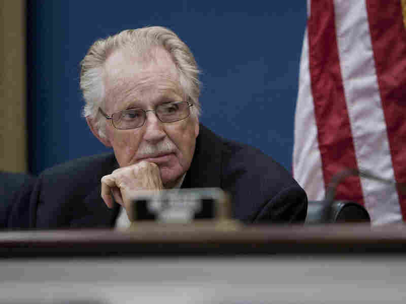 Rep. Roscoe Bartlett, R-Md., at a House Small Business Committee hearing on Sept. 21, 2011. After two decades in Congress, a redrawn district has put his re-election in question.