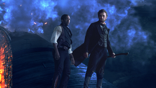 Lincoln's life has been adapted for the screen so often that there's room for the artistic liberties of films like Abraham Lincoln: Vampire Hunter. (Twentieth Century Fox)
