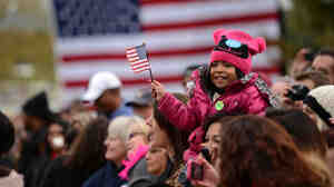 Supporters turned out for President Obama's first post-debate rally on Oct.4 in Denver. The president is facing a fierce fight for Colorado after winning it by 9 points four years ago.