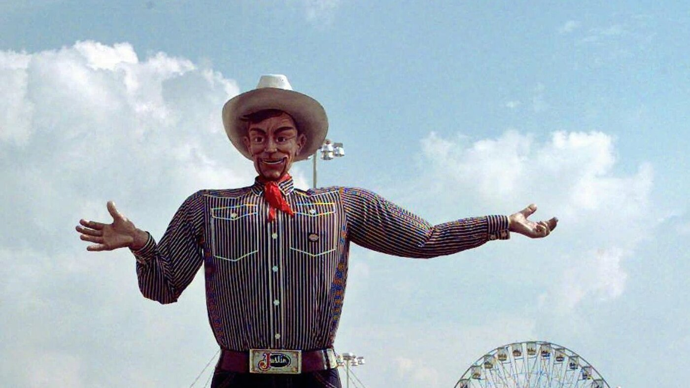 the stories why 39 big tex 39 matters the two way npr. Black Bedroom Furniture Sets. Home Design Ideas