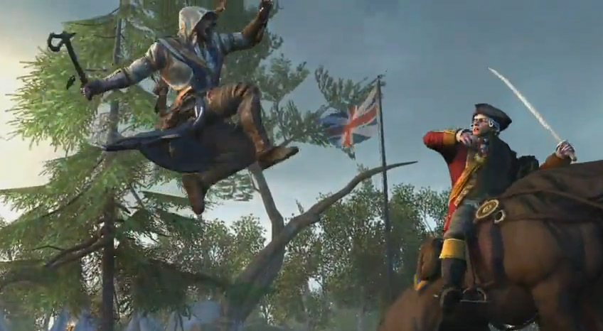 Connor, who is British and Native American, is the new protagonist in Assassin's Creed III.