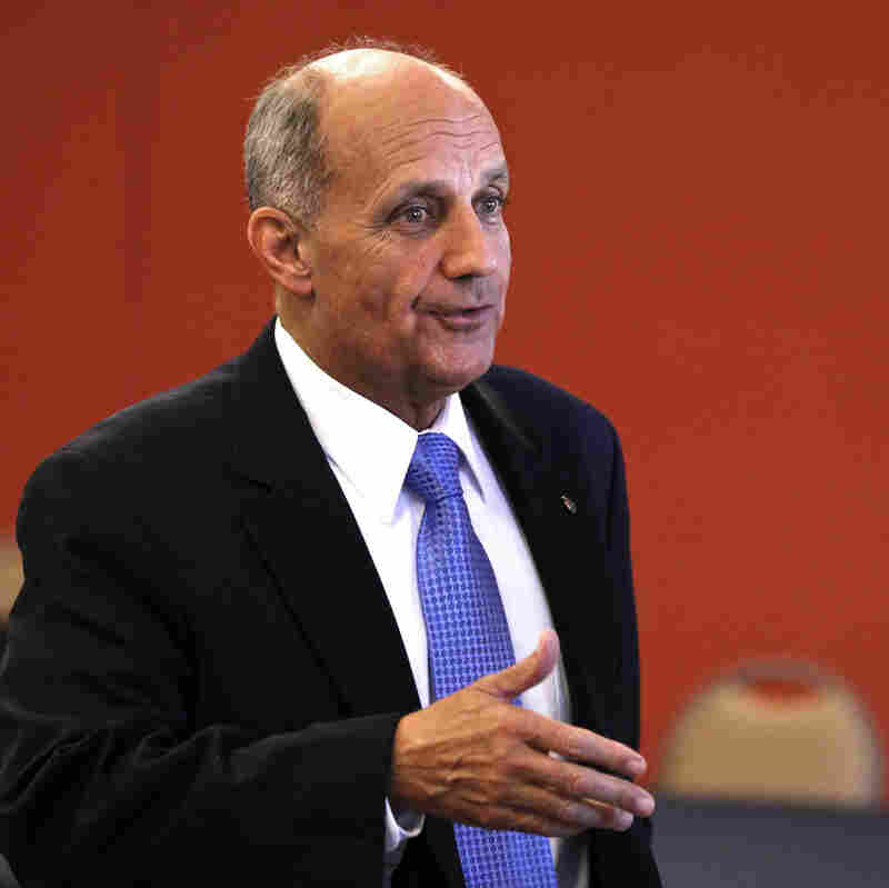 Democrat Richard Carmona, who is running for the Senate from Arizona.