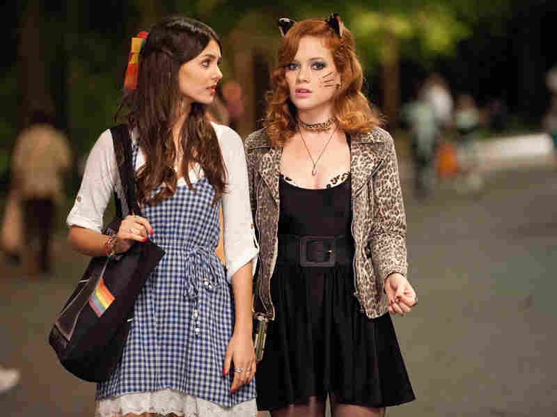 When she loses her little brother in a sea of trick-or-treaters, Wren (Victoria Justice) finds him with help from her friend April (Jane Levy).
