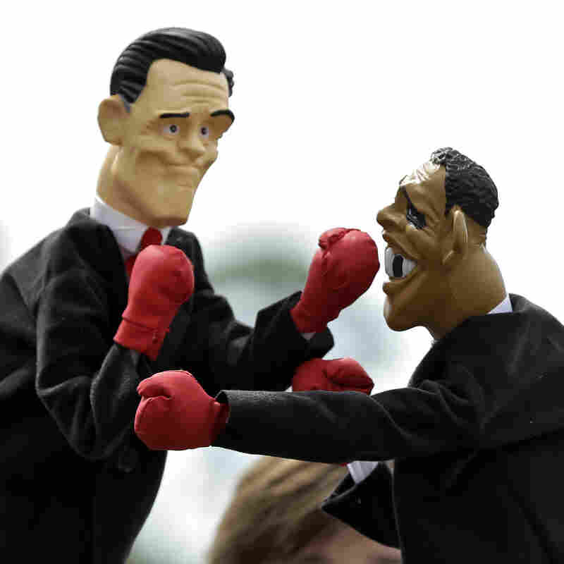 Obama And Romney, Metaphorically Speaking