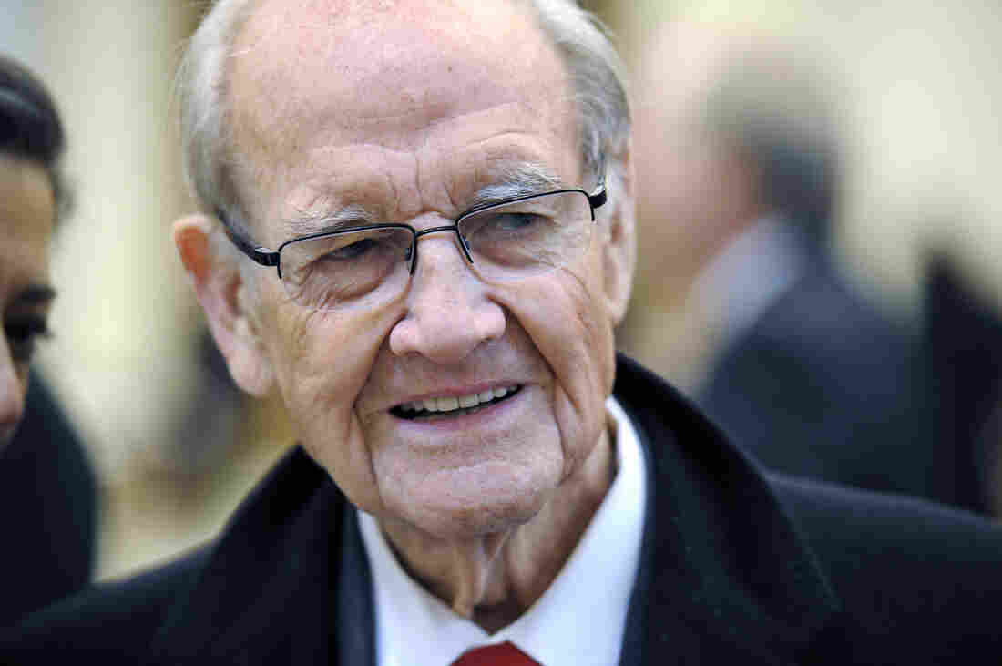 Former presidential nominee and Sen. George McGovern.