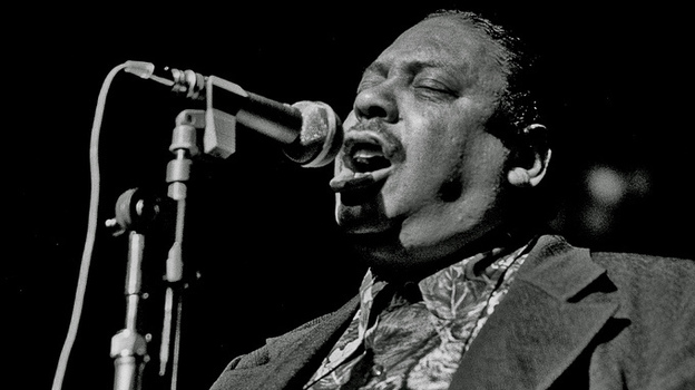 No figure in the history of rock 'n' roll is more incongruous than Big Joe Turner. (Wikimedia Commons)