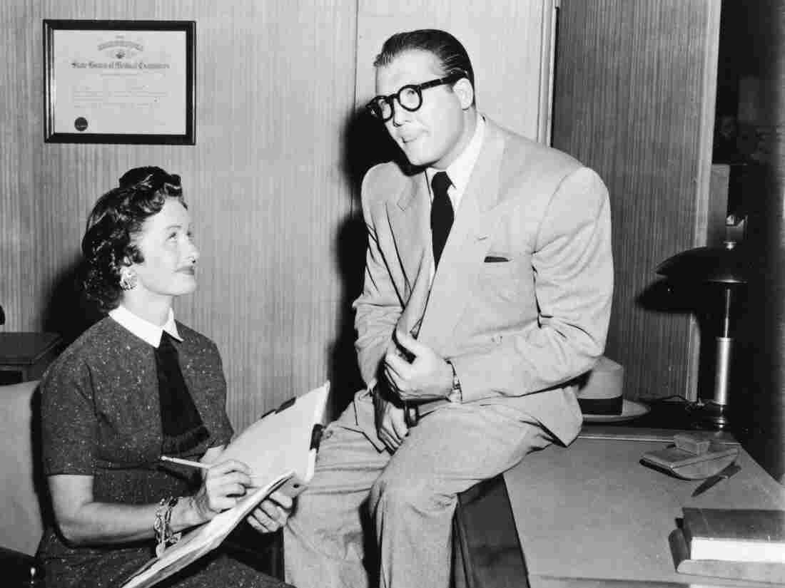 Back in the day, Clark and Lois were news hounds. Would they be bloggers today? (George Reeves and Noel Neill, from the television series Adventures of Superman, circa 1955)