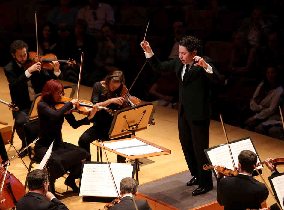 "In a recent interview with NPR's Robert Siegel, Dudamel called Rite ""amazing...you discover new colors, you discover, 'Oh look, this is a very traditional harmony,' but then you see the details — and then every time it's different."""