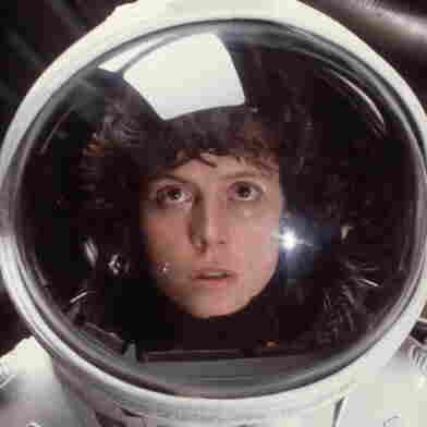 Sigourney Weaver as Ripley in Ridley Scott's Alien.