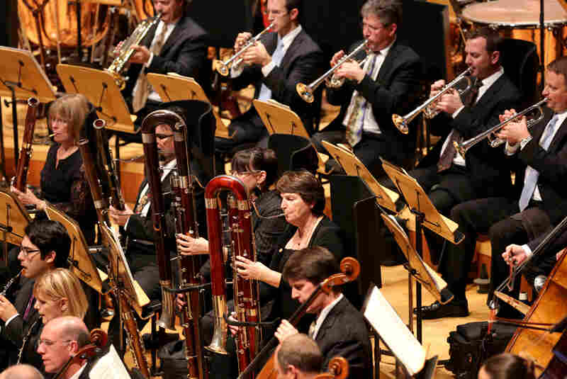 The winds and brass of the Los Angeles Philharmonic play Stravinsky's strange and exciting colors.