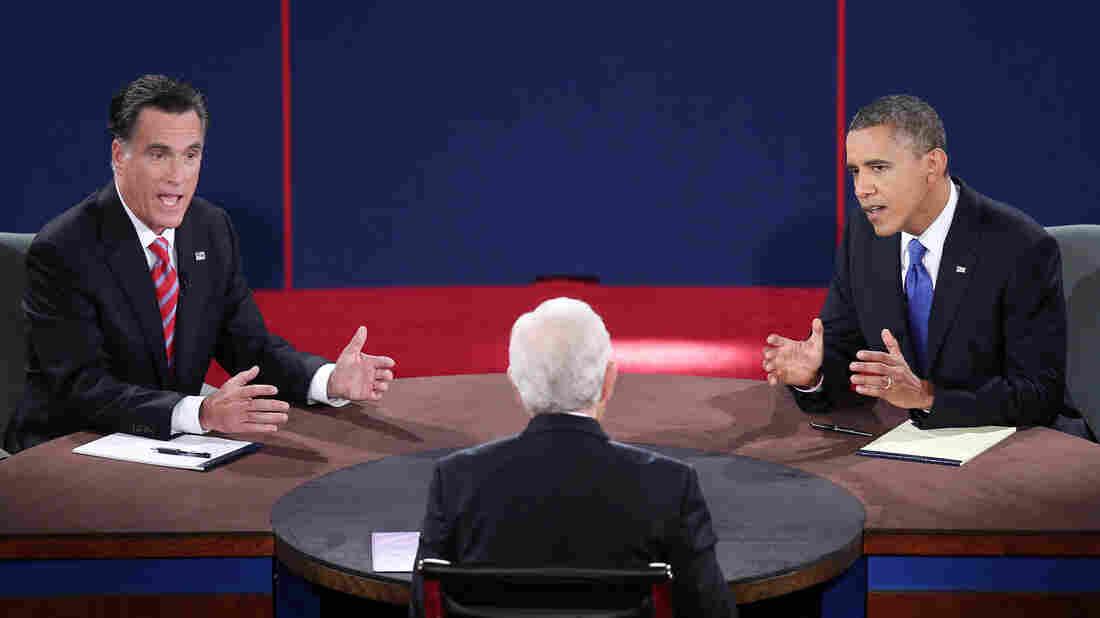 Mitt Romney and President Obama debate Monday in Boca Raton, Fla., with moderator Bob Schieffer.