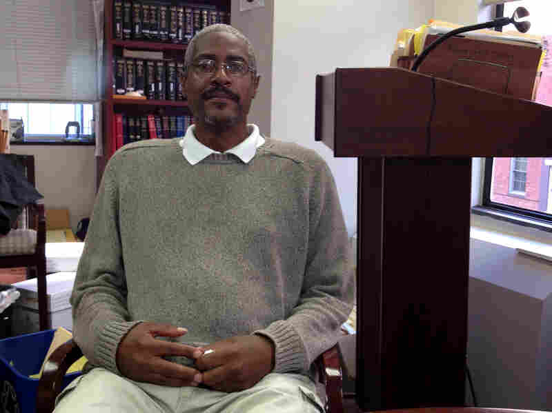 Santae Tribble is out of prison — a judge earlier this year threw out his conviction — but he's fighting for a finding of legal innocence. That would help him get compensation for the more than 25 years he spent behind bars.