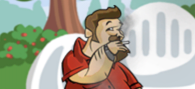 In the iPhone app Puff Puff Pass, players pretend to smoke a cigarette and then give it to their friends