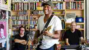 Robert Cray performs a Tiny Desk Concert