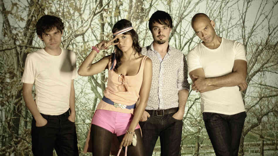 Bomba Estéreo's new album, Elegancia Tropical, comes out Nov. 6.
