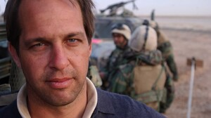 Dexter Filkins earned a George Polk award in 2004 for his coverage of Fallujah. His book, The Forever War, is about his experiences in Iraq and Afghanistan.