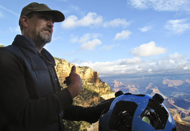 Before Steve Silverman helped Google build its new Trekker, he built cameras for NASA to photograph the surface of Mars. Silverman says the Trekker is built to survive in intense conditions. It will boot up at 10 below zero Celsius or at 110 Fahrenheit. It will even work after being fully submerged in water.