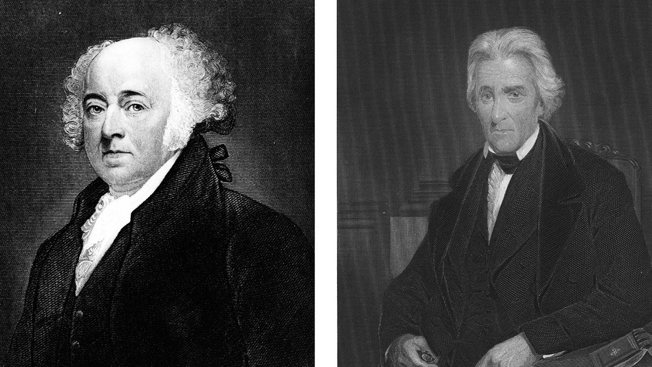 "Charisma wasn't an early requirement for presidents, since many decisions were made behind closed doors, says psychology professor Dean Simonton. His analysis of the charisma of these three commanders in chief: John Adams: ""Average."" Thomas Jefferson: ""Average."" Andrew Jackson: ""Well above average."" (Getty Images)"