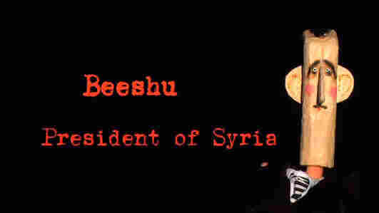Syrians opposed to President Bashar Assad have been posting YouTube videos mocking him. The episodes are called Top Goon, and the Syrian president goes by the name Beeshu. The work is done anonymously because those behind it fear they could face retribution from the Syrian government.