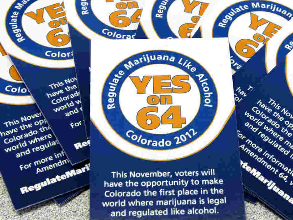 Colorado already allows the use of marijuana for medical purposes. Amendment 64 would regulate marijuana like alcohol.