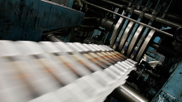 The power of newspaper endorsements has faded, but candidates still compete for them. (Getty Images)
