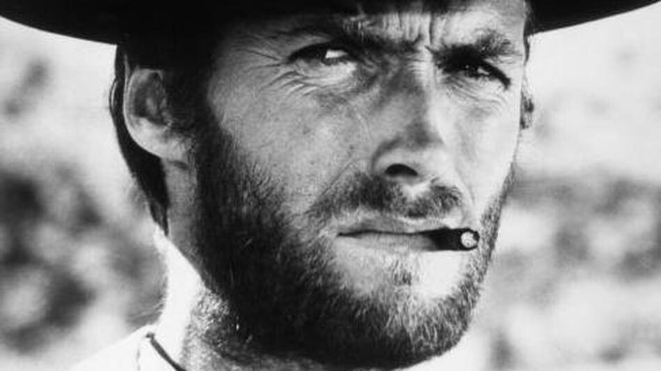 Clint Eastwood in a scene from Sergio Leone's film The Good, The Bad, and The Ugly. (Getty Images)