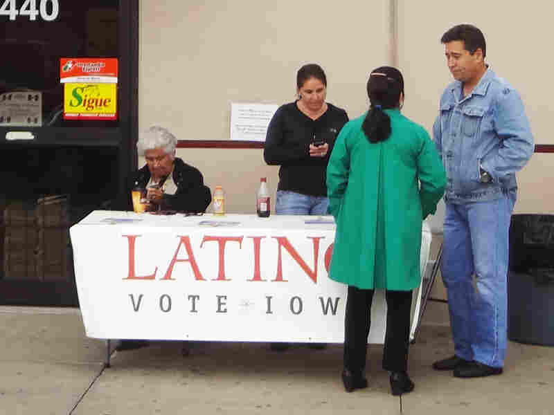Democrats have been particularly active in establishing satellite locations. This grocery store location was set up by the Obama campaign.