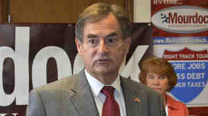 Richard Mourdock, Republican candidate for Senate in Indiana.
