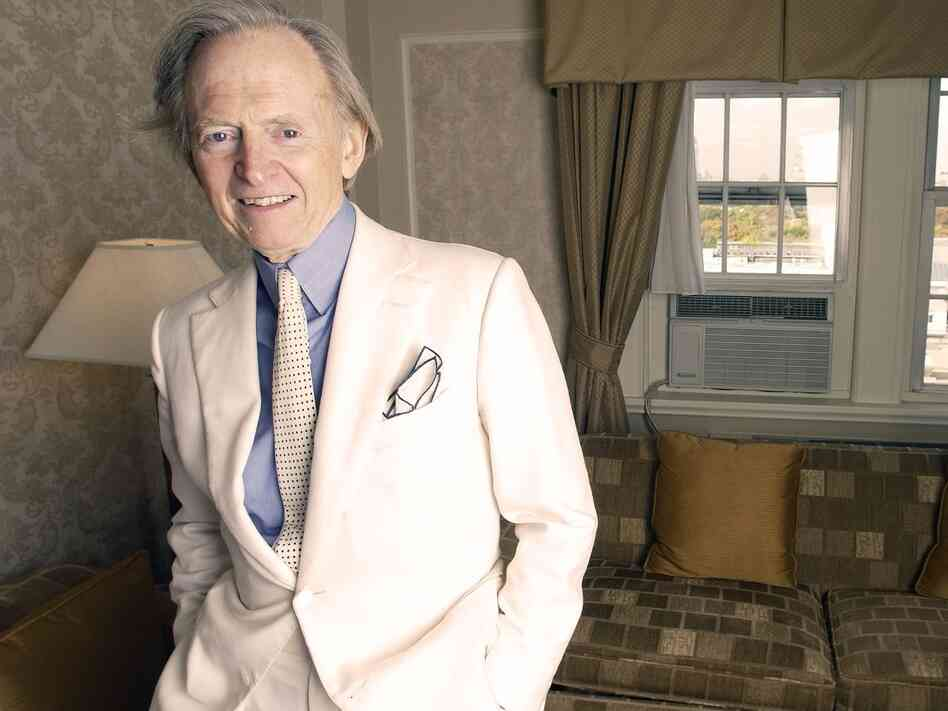 Author and journalist Tom Wolfe's books include The Electric Kool-Aid Acid Test, The Bonfire of the Vanities and I Am Charlotte Simmons, among others.