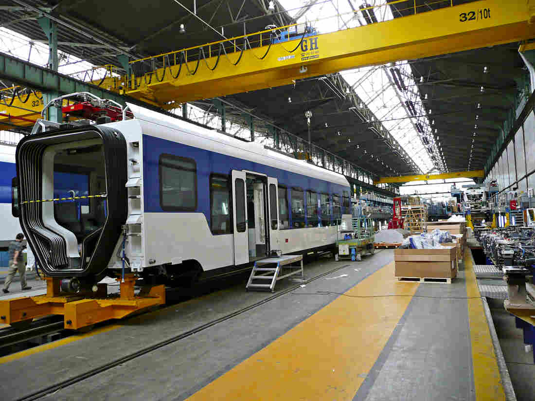 Train cars are built at the CAF factory in Beasain, Spain. One of the Basque region's most successful companies, CAF, makes trains for Amtrak, the Washington, D.C., metro system and light rails in Sacramento, Pittsburgh and Houston.