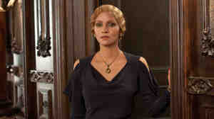 Halle Berry's characters in Cloud Atlas crisscross time and space. The actress plays six roles, including German intellectual Jocasta Ayrs (above) and an Asian man.