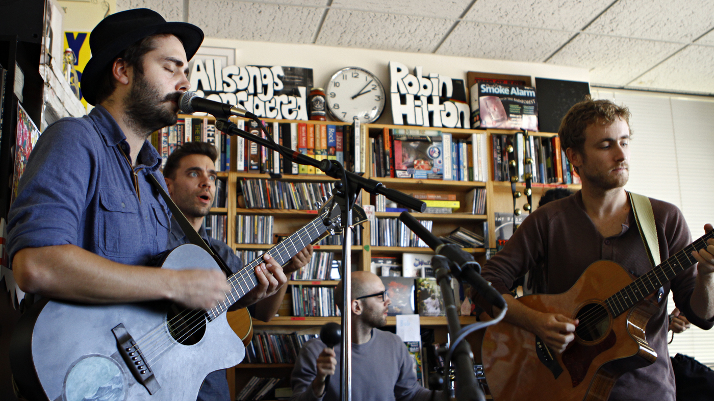 Lord Huron: Tiny Desk Concert : NPR