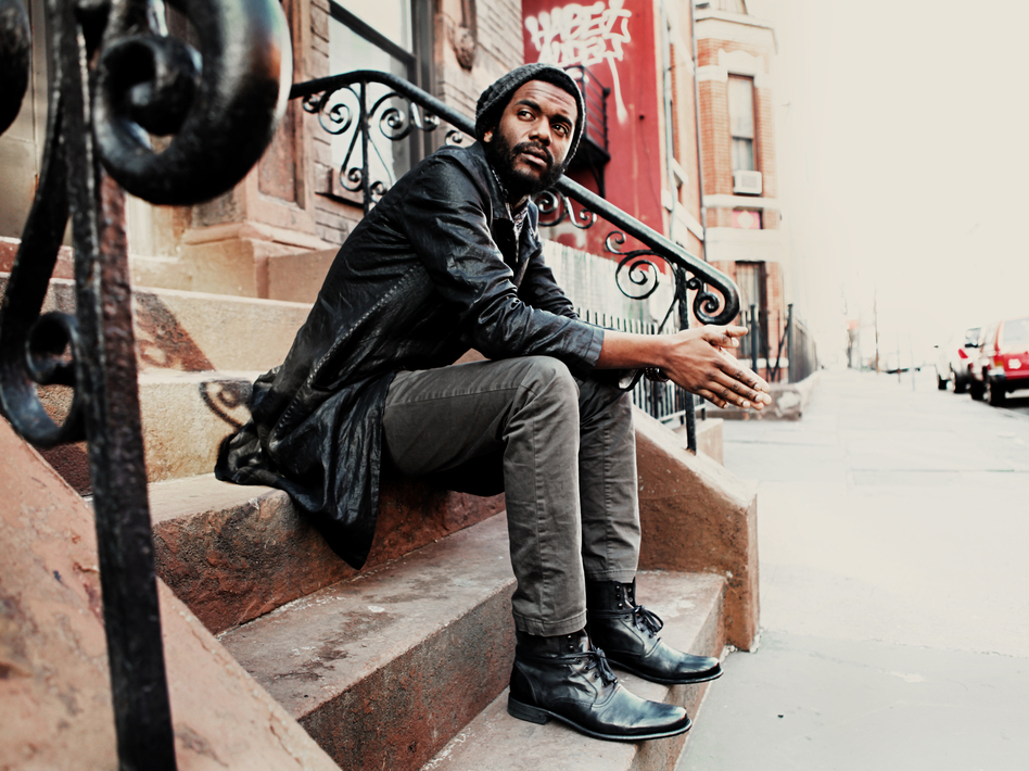 Gary Clark Jr.'s new album is called Blak and Blu.