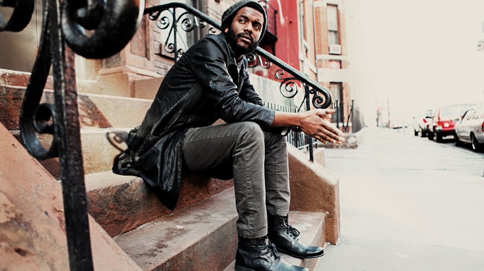 Gary Clark Jr.'s new album is called <em>Blak and Blu.</em>
