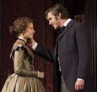Dan Stevens — Matthew Crawley on the hit TV show <em>Downton Abbey</em> — plays Morris Townsend, Sloper's passionate but penniless suitor.